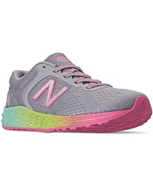 New Balance Little Girls' Fresh Foam Arishi V2 Running Sneakers from Finish Line