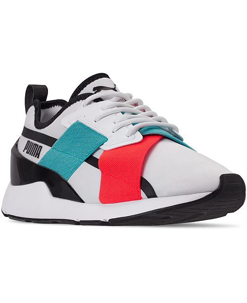 Puma Women's Muse X2 Gloss Casual Sneakers from Finish Line