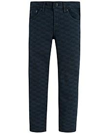 Big Boys 512™ Slim Tapered-Fit Stretch Logo-Print Jeans