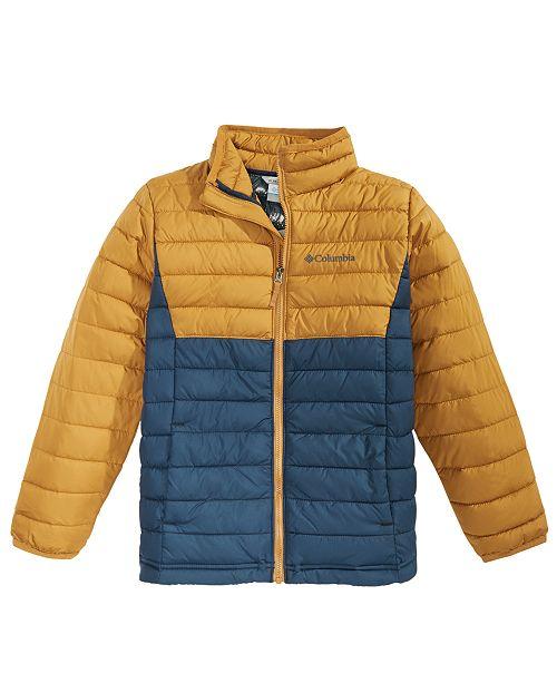 Columbia Big Boys Powder Lite Colorblocked Jacket