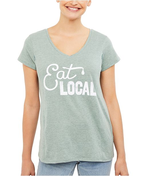 Motherhood Maternity Eat Local™ Graphic Nursing Tee