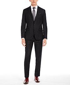 Bar III Men's Slim-Fit Black Stripe Suit Separates, Created for Macy's