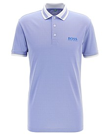 BOSS Men's Paule Pro 4 Slim-Fit Golf Polo Shirt