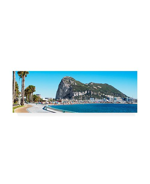 "Trademark Global Philippe Hugonnard Made in Spain 2 Gibraltar Canvas Art - 36.5"" x 48"""