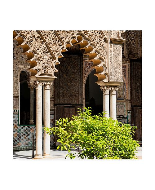"Trademark Global Philippe Hugonnard Made in Spain 3 Arabic Arches Canvas Art - 36.5"" x 48"""