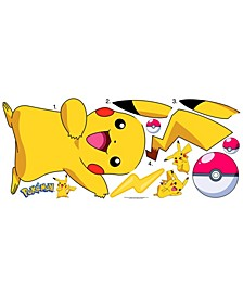 Pokemon Pikachu Peel and Stick Wall Decals