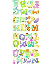 Animal Alphabet Dena Designs Peel and Stick Wall Decals