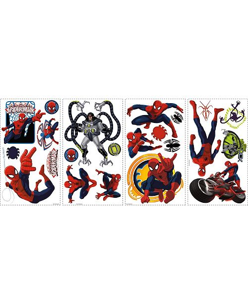 York Wallcoverings Spiderman - Ultimate Spiderman Peel and Stick Wall Decals