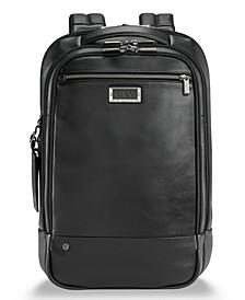 @Work Medium Leather Backpack