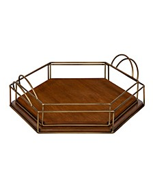 Westland Hexagon Nesting Trays, 2 Piece