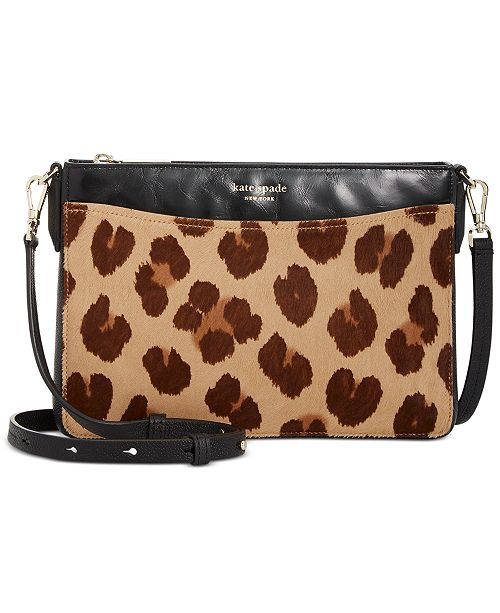 kate spade new york Margaux Calf Hair Convertible Crossbody