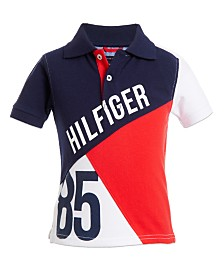 Tommy Hilfiger Baby Boys Colorbloked Cotton Piqué Polo Shirt