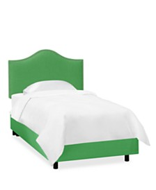 Jameson Kids Full Nail Button Bed, Quick Ship