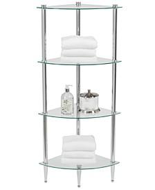 Accessories, 4 Shelf Corner Tower