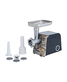 Magic Chef Meat Grinder with Sausage Maker and Authentic Real Tree Extra Camouflage Pattern