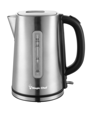 Magic Chef 7.2-Cup Electric Kettle with Cordless Pouring