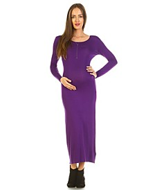 Maternity Penelope Maxi Dress