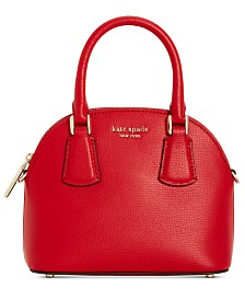 Kate Spade New York Sylvia Mini Dome Leather Satchel