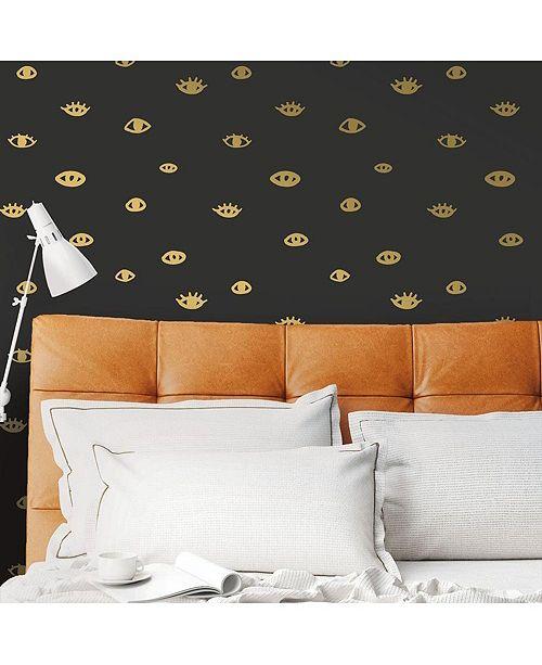 Tempaper Eye See You Self-Adhesive Wallpaper