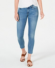 Lolita Raw-Hem Skinny Ankle Jeans