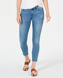 Lucky Brand Lolita Raw-Hem Skinny Ankle Jeans