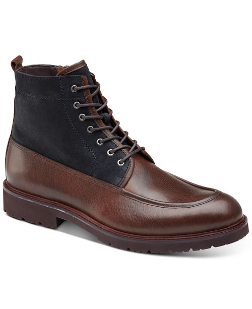 Johnston & Murphy Men's Sanders Zip Ankle Boots