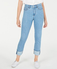 OAT Cotton Straight-Leg Jeans