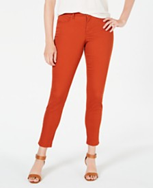 Style & Co Curvy-Fit Skinny Fashion Jeans, Created for Macy's