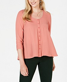 Petite Swing Blouse, Created For Macy's