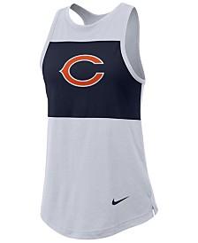 Nike Women's Chicago Bears Racerback Colorblock Tank