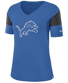 Nike Women's Detroit Lions Tri-Fan T-Shirt