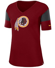 Women's Washington Redskins Tri-Fan T-Shirt