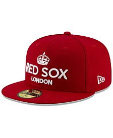 Boston Red Sox London Series 59FIFTY Fitted Cap