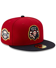 Aberdeen IronBirds Stars and Stripes 59FIFTY Cap