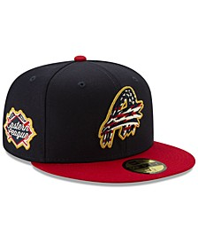 Akron Rubber Ducks Stars and Stripes 59FIFTY Cap
