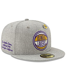 Los Angeles Lakers 2019 On-Court Collection 59FIFTY Fitted Cap