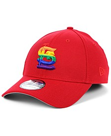 St. Louis Cardinals Pride 39THIRTY Stretch Fitted Cap