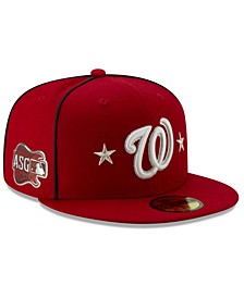 Little Boys Washington Nationals 2019 All Star Game Patch 59FIFTY Fitted Cap