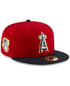 Los Angeles Angels Stars and Stripes 59FIFTY Cap