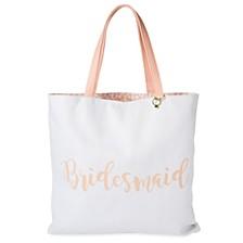 Tri-Coastal Design Reversible Canvas Tote Bag