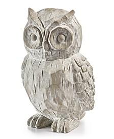 Harvest Large Owl Figurine