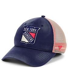 Authentic NHL Headwear New York Rangers Americana Trucker Snapback Cap