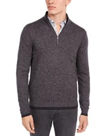 Michael Kors Men's Quarter-Zip Sweater, Created For Macys