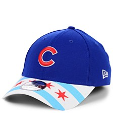 Chicago Cubs Flag 39THIRTY Cap
