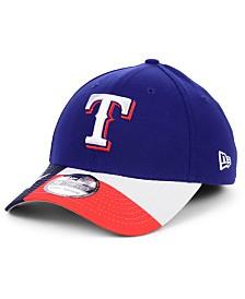 New Era Texas Rangers Flag 39THIRTY Cap