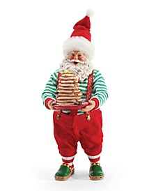 Possible Dreams Santa Full Stack of Pancakes Figurine