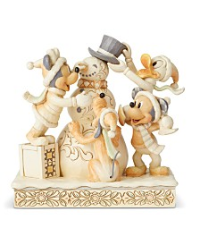 Jim Shore White Woodland Mickey and Friends