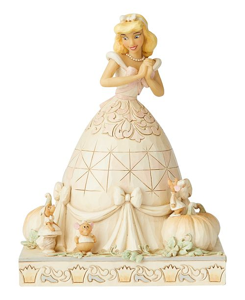 Enesco Jim Shore White Woodland Cinderella