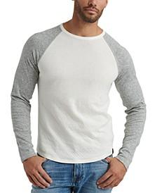 Men's Colorblocked Double-Knit Raglan T-Shirt