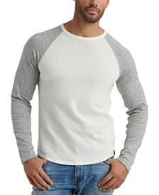 Lucky Brand Men's Colorblocked Double-Knit Raglan T-Shirt
